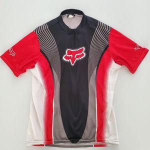 Fox Racing Jersey Size L Half Zip